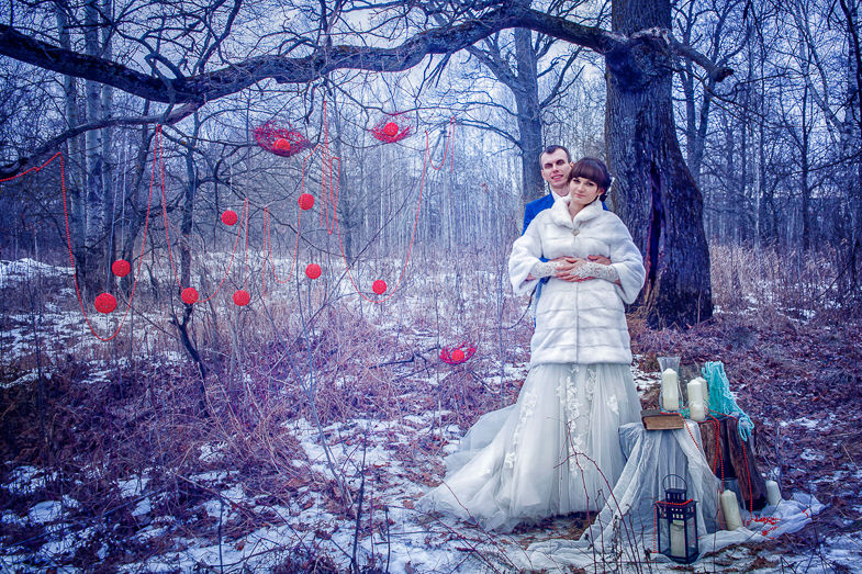 Свадебные фотосеты